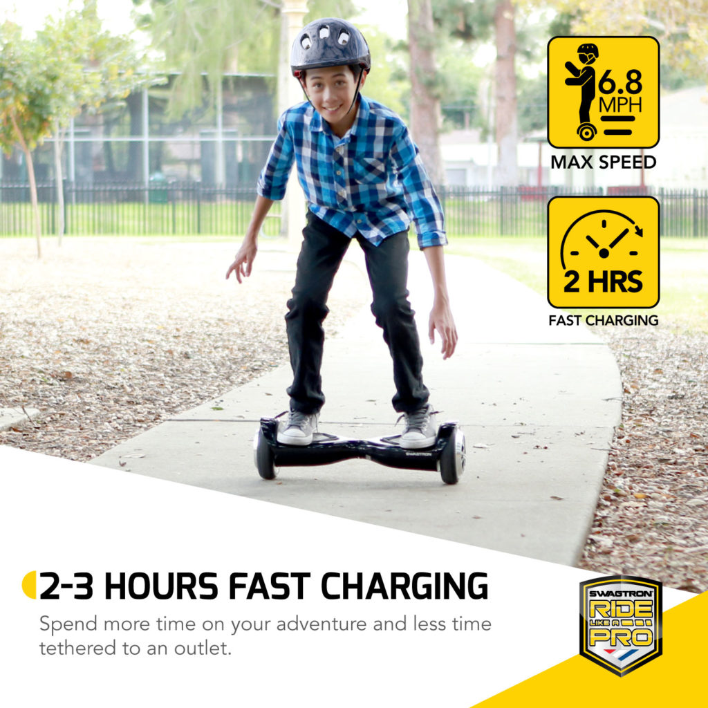Swagtron t500 hoverboard recertified - 1
