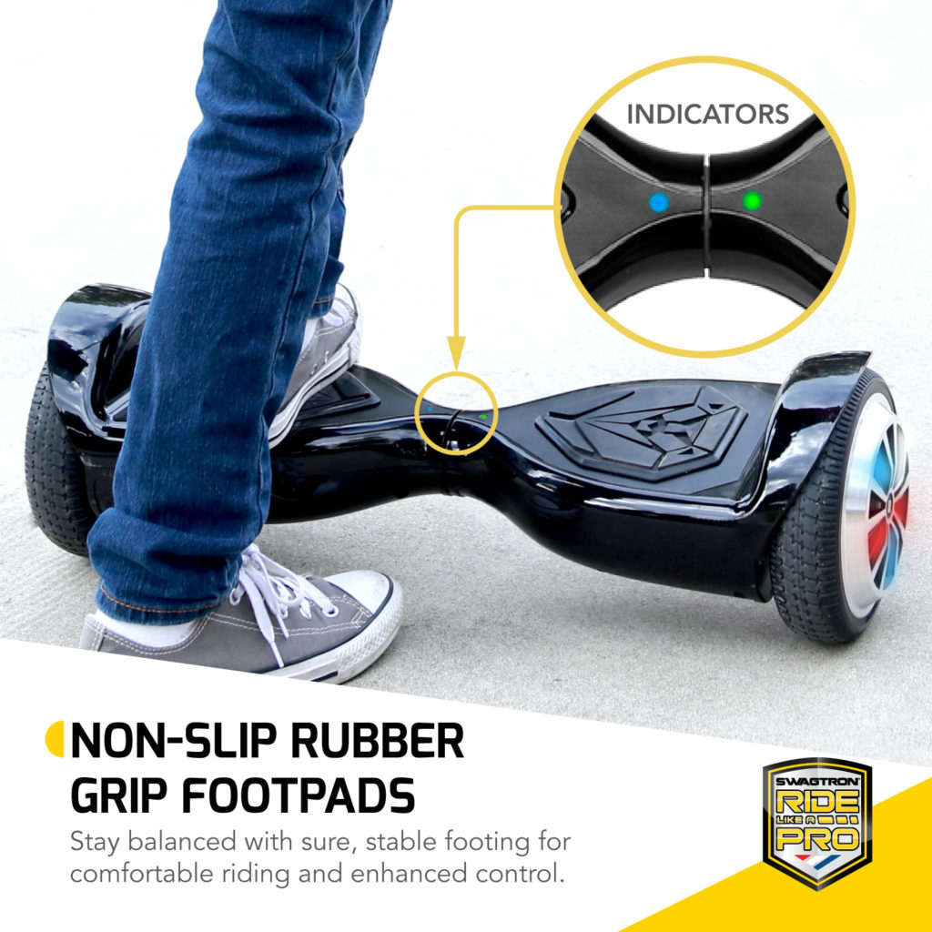 Swagtron t500 hoverboard recertified - 6