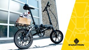 Side view of the EB5 Pro electric bike.