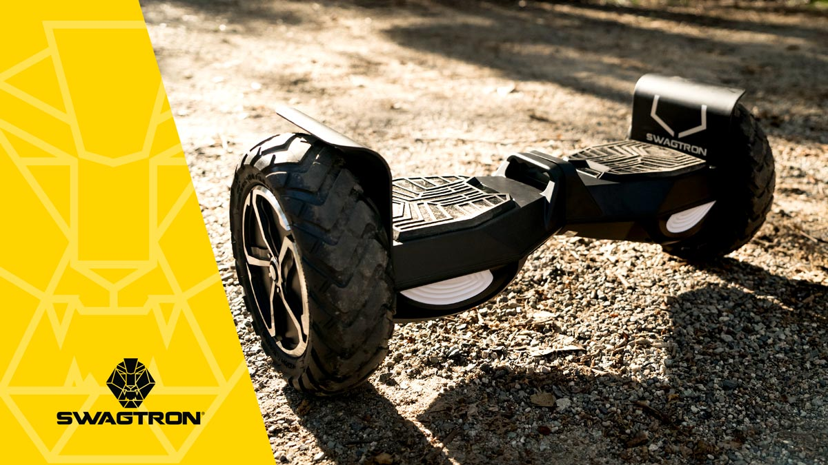 Image of the swagBOARD T6 Off-Road hoverboard