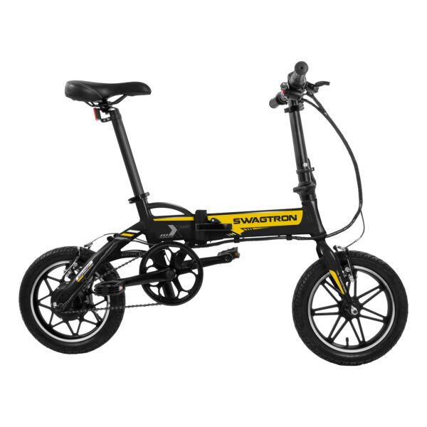 Folding City & Campus eBike side view