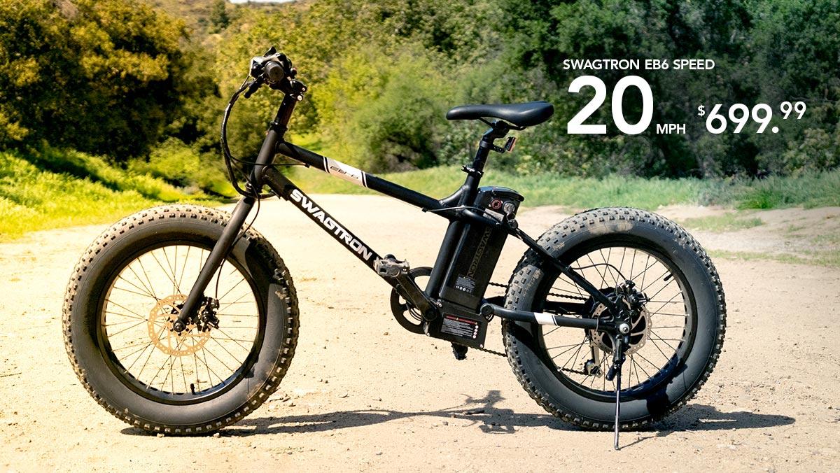 The EB6 All-Terrain Electric Bike.
