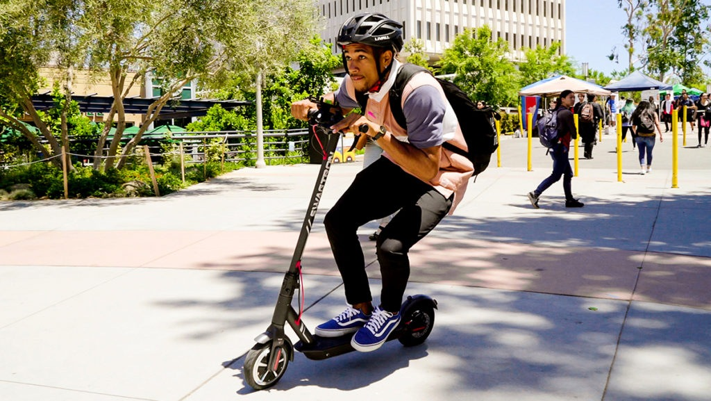 Electric scooters are easy to use, portable and a great investment for years spent traversing campus spaces.