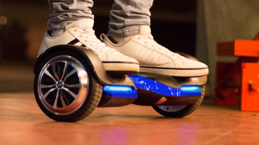 The swagBOARD T580 hoverboard.