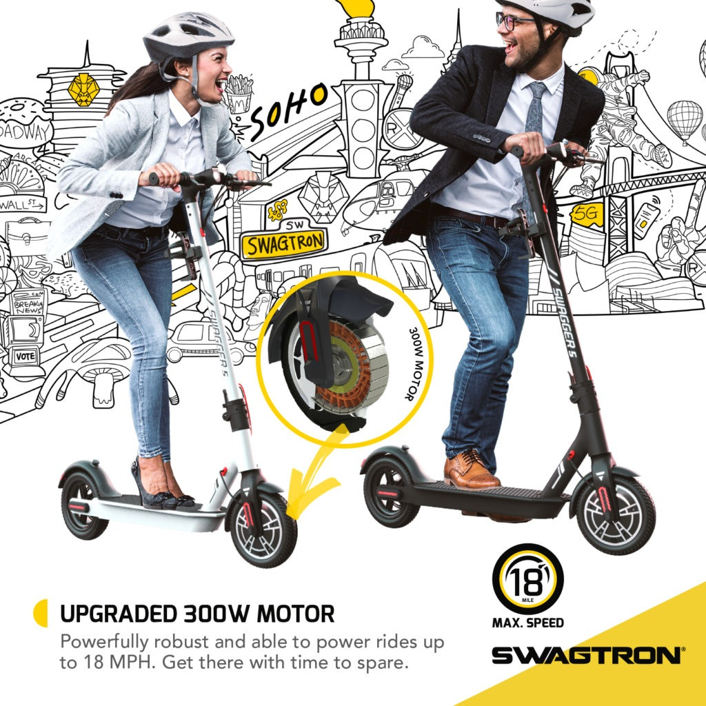 Electric Scooter - Swagger 5 Boost 3