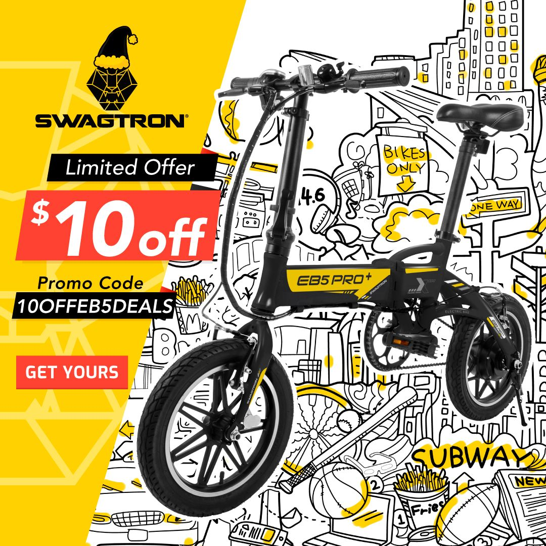 EB5 eBike Black Friday & Cyber Monday Deals
