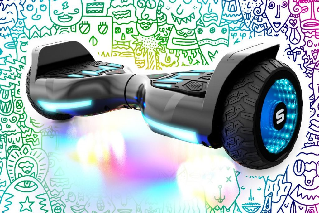 swagBOARD T580 Warrior hoverboard