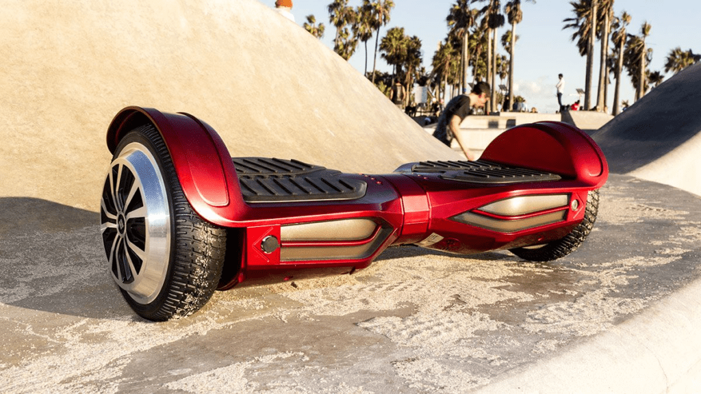 The swagBOARD T380 Elite hoverboard.