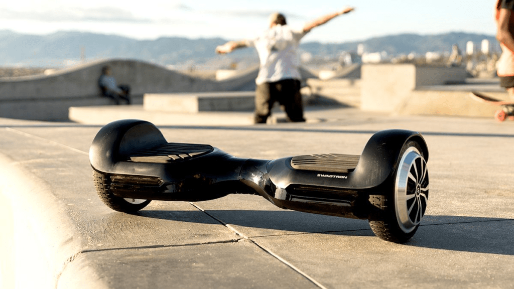The swagBOARD T580 Vibe hoverboard.