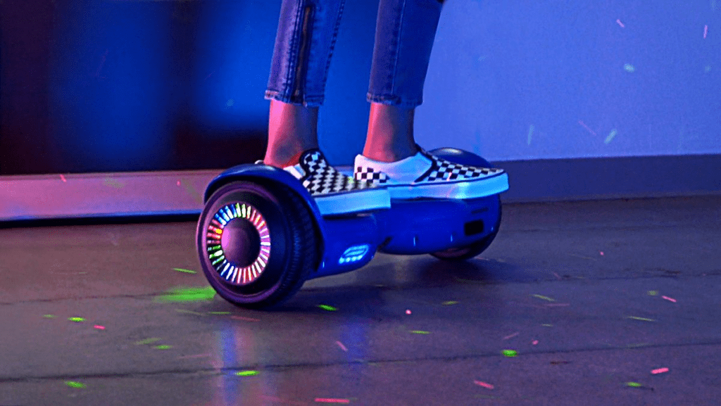 The swagBOARD T580 Warrior with EXCLUSIVE ground-effects lighting and LiFePo™ superior battery tech.