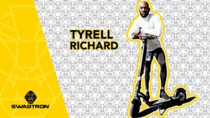 Tyrell Richard, Olympic runner, and the Swagger 7T Transport