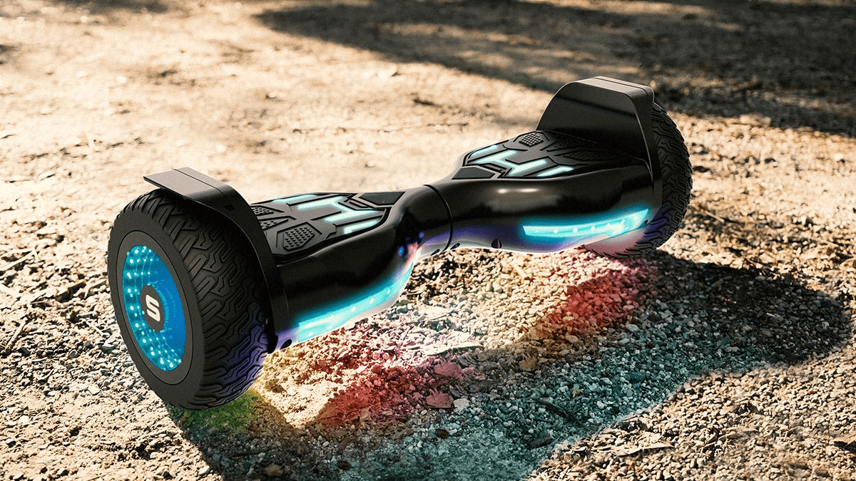 The swagBOARD T580 Warrior XL Bluetooth Hoverboard from SWAGTRON.