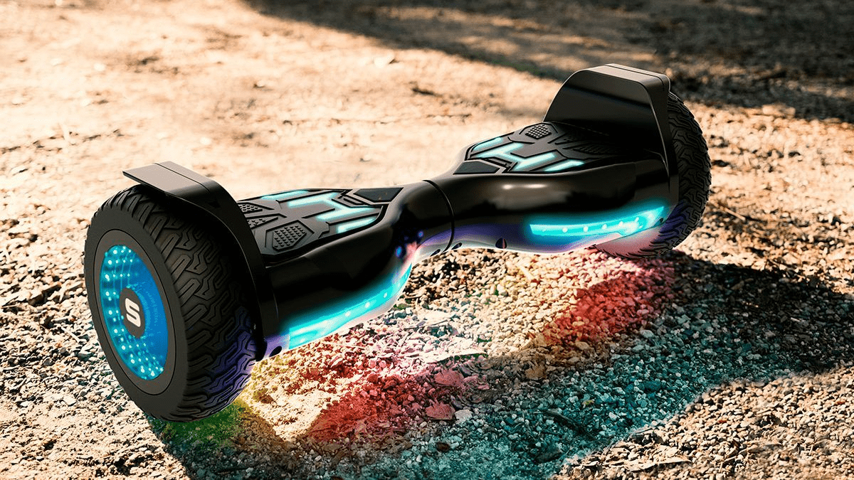 The swagBOARD Warrior XL hoverboard.