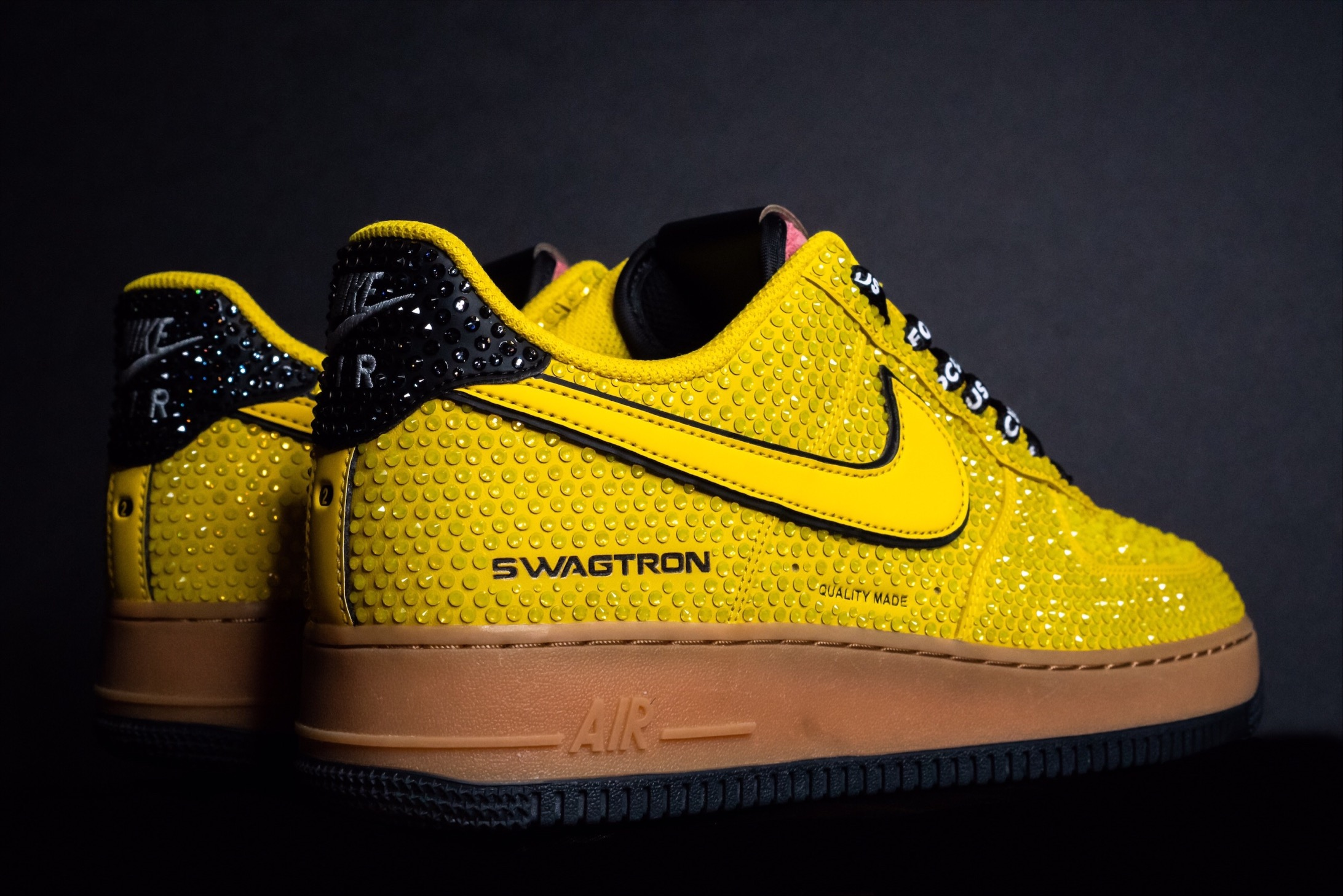 SWAGTRON x GVG Gemified Air Jordans