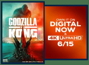 Godzilla vs Kong image poster & sweepstakes