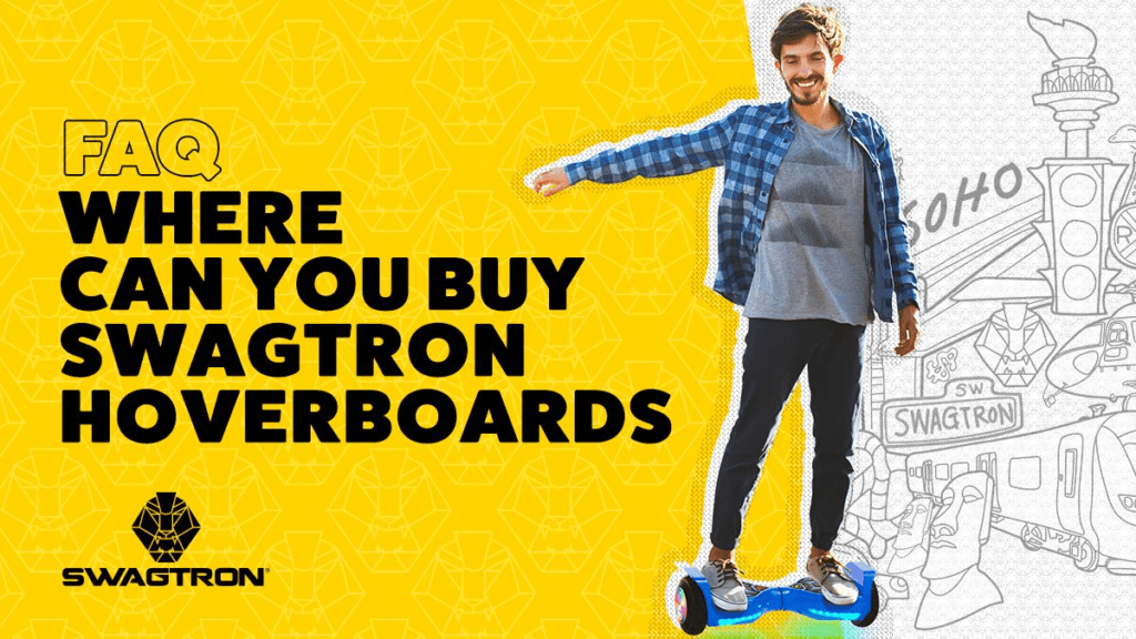 Guy on a hoverboard.