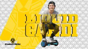 Liqquid Candi on the swagBOARD T580 Warrior hoverboard
