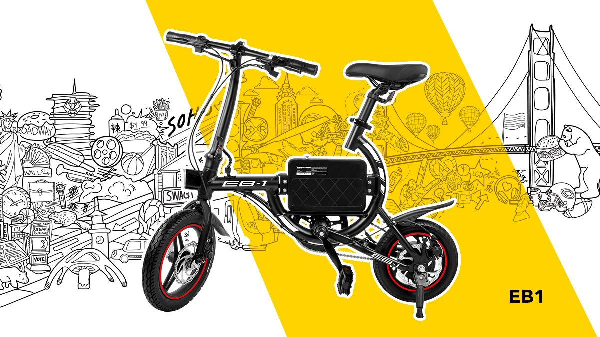 SWAGTRON EB1 Short Commute Folding eBike is an excellent choice for smaller budgets.