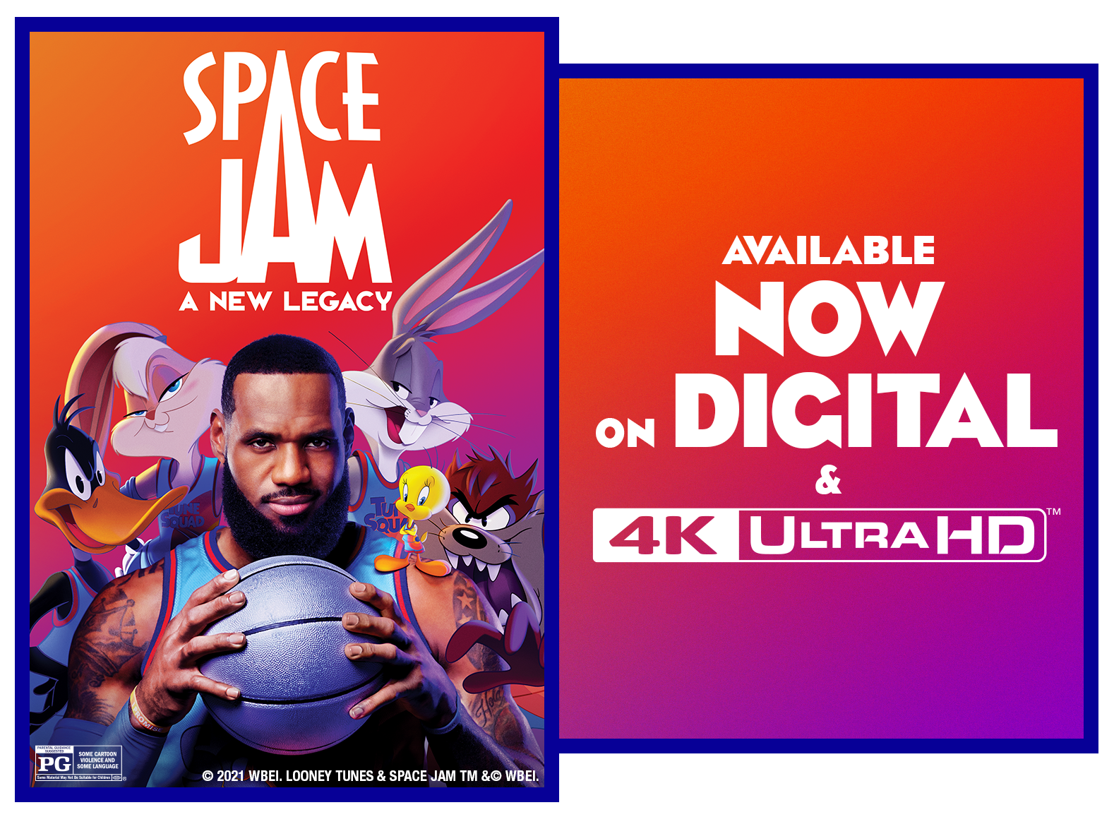 Space Jam: A New Legacy image poster & sweepstakes