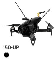 TOP OF THE LINE SWAGTRON SWAGDRONE 150-UP FOR 5.8G HIGH-SPEED FPV DRONE RACING – 600TVL CAMERA, FAILSAFE, 3-AXIS GYRO