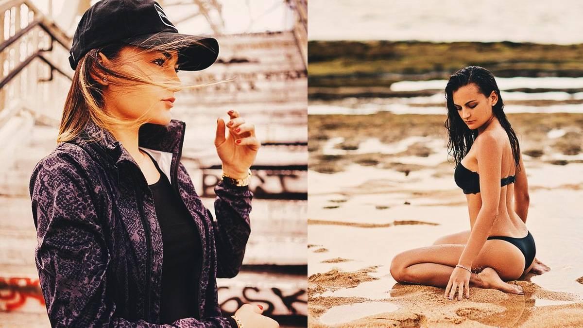 split-image of miss neeks and miss neeks